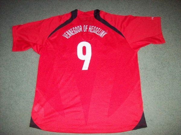 2005 2006 PSV Vennegoor of Hesselink Football Shirt Adults XL Jersey